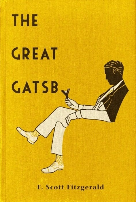jumpinafterme:  The Great  This is an awesome cover design.