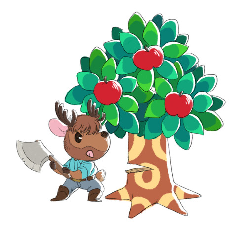 Stanton as Animal Crossing!