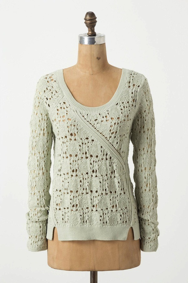 [Collected Stitches Pullover by Anthropologie]