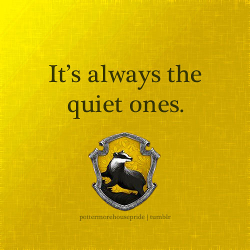 pottermorehousepride:  Hufflepuff Pride (submitted by daisypinwheel)  Aw man. This blog is great. HUFFLEPUFF PRIDE~