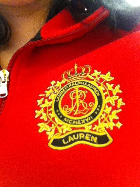 Ralph Lauren Fleece Today! Only wore it 3 times as of today.
