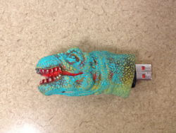 Customized  T-Rex USB