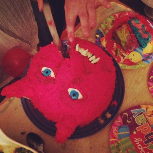 Cake monster @abbyportner (Taken with instagram)