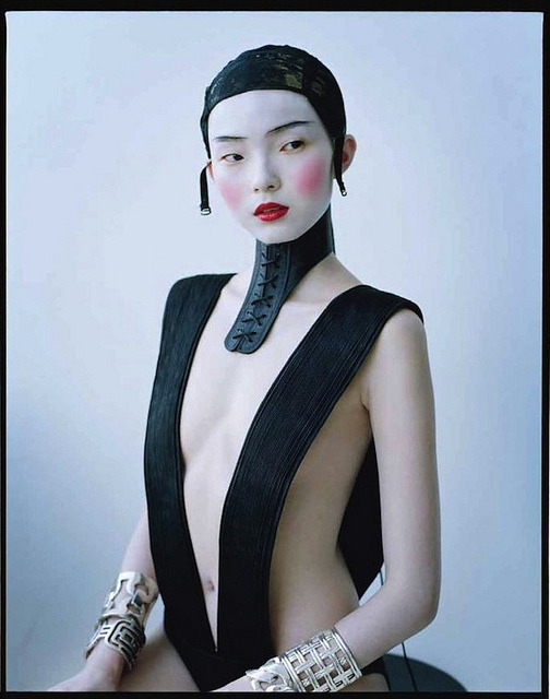 """Magical Thinking"" Xiao Wen Ju in Haider Ackermann photographed by Tim Walker"