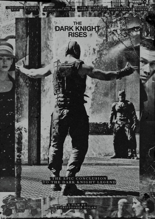 midmarauder:  THE DARK KNIGHT RISES FILM POSTER CONCEPT #2 OF 6