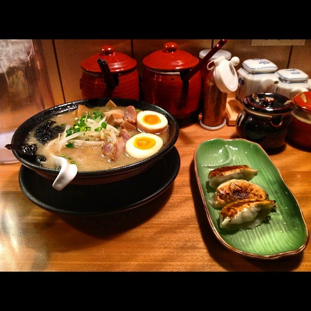 Ramen time again (Taken with Instagram at 九州らーめん 博多吉もん)