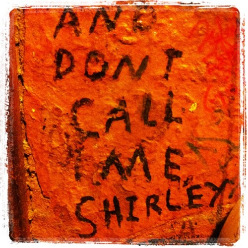 Never call me Shirley … (Taken with Instagram at Pickle Barrel)