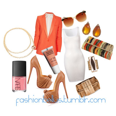 burst. by fashionbellus featuring a twill blazer