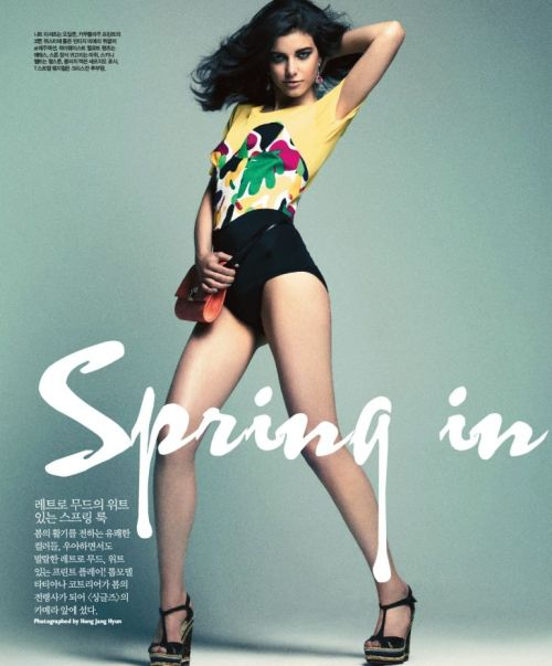 fuckyeahvintagediary:    Tatiana Cotliar for Singles Korea April 2012 by Hong Jang Hyun