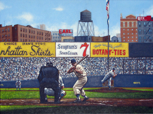 paullempa:  Mickey Mantle painting.