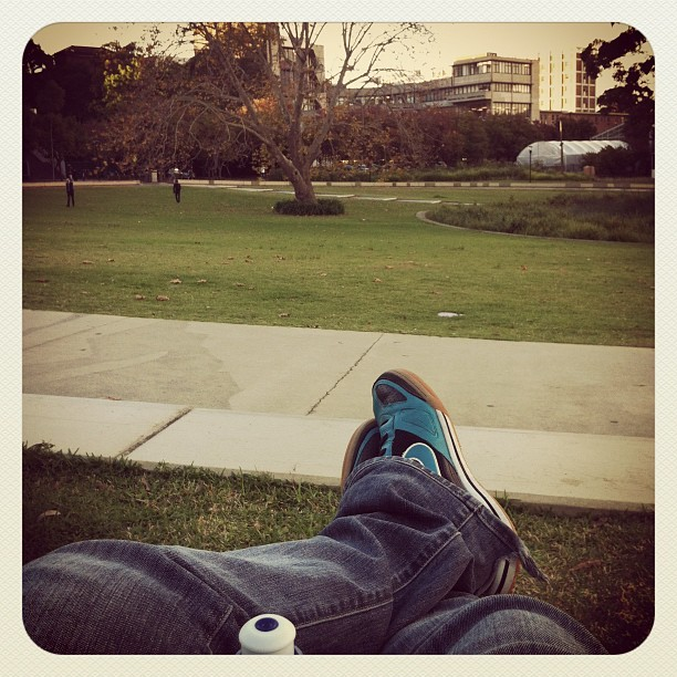 #relaxing after the gym. #nike #shoes #usyd #darlington #sydney #sydneyuni (Taken with instagram)