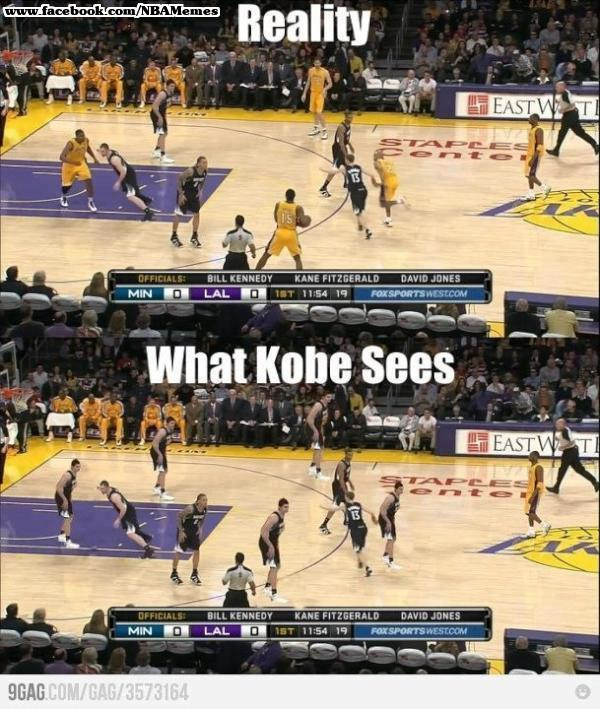 kobe against everybody