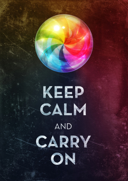 serialthrillerinspiration:  Keep Calm Art Print by Michael Flarup