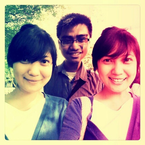 Hey Fiqhi!!! #friend #afterclass @fiqhoy (Taken with instagram)