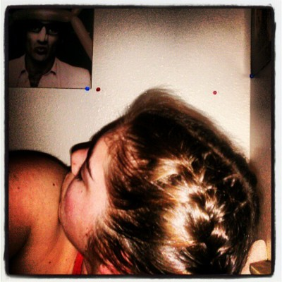 Bedtime braids (Taken with instagram)