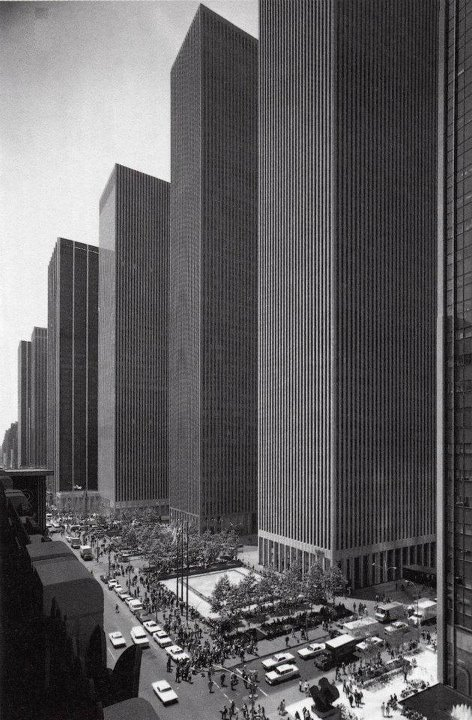 Skyscrapers on 6th Avenue in 1974 #NewYork #Skyscraper http://on.fb.me/HYjuuF