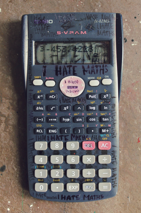 sooooo you hate mathS? LAWLs