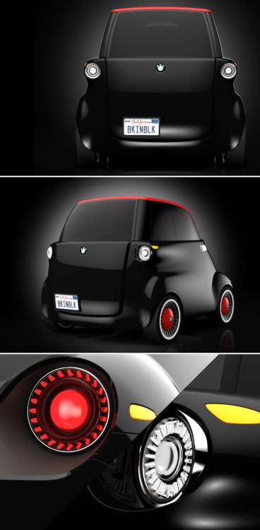 Electrical concept car by Tony Weichselbraun. I want one !