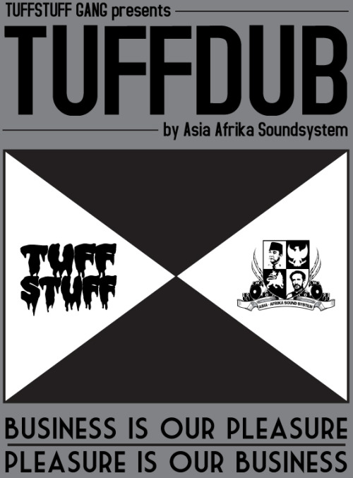 "Asia-Afrika Soundsystem and Tuff Stuff Gang combine forces on TUFFDUB, a hard-hitting re-envisioned mixtape of classic dub/reggae gems.  With LionRock as selector, Ras Muhamad's voice emerges from the dubby wobbles to speak clearly and triumphantly about the street life both past and present.  Representing Indonesia, Tuff Stuff Gang has put together a powerful Asian dub statement that is on par with the upbeat offerings from India's Reggae Rajahs.  This 30+ minute mix is available for stream and download from Soundcloud, chock-full of big artists like Alborosie, U-Roy, King Tubby, Sly & The Revolutionaries, Lee ""Scratch"" Perry, Alpha & Omega, and Scientist.  Or to be cliche, it's ""a who's who"" of Jamaican dub with some modern influences as well!"