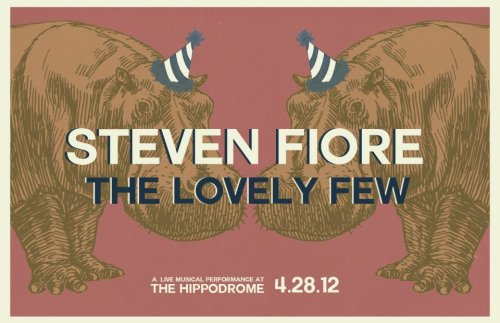 This Saturday in Charleston, SC.  With Steven Fiore at The Hippodrome (former IMAX theater).  Tickets are $10, $7 for students.  Doors at 8:30.