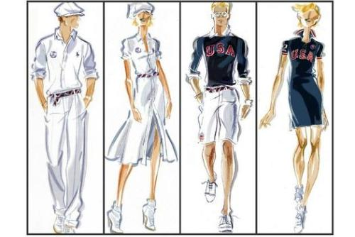 Fashion Of The Summer Olympics By Ralph Lauren The Olympics are coming up! Aren't you excited! Well, we are. Either way, if you like fashion, here's a sneak peak to what Ralph Lauren has in store. Who knew they designed the clothes? I guess just another perk of being an Olympic athlete, amazing clothes - ha!  Ralph Lauren, one of the official designers for the U.S. Olympic and Paralympic team, unveiled some early sketches of the U.S. team's outfits for the 2012 London Olympics. The U.S. Olympic Committee has appointed the U.S. designer to create male and female outfits for the Olympics' closing ceremony this summer. Peter Zeytoonjian, managing director of consumer products and licensing for the U.S. Olympic Committee said of the designs: Ralph Lauren takes great pride in understanding our U.S. athletes and creating a sense of patriotism through clothing. The Closing Ceremony garments embody our national sentiment of what it means to be an American. The U.S. team's closing ceremony uniform revolves around a nautical theme while the village wear outfits include more casual pieces, such as mesh polos, tanks, and tunics. All of the clothing is emblazoned with the red, white, and blue Team U.S.A. logo and Ralph Lauren's signature Big Pony logo. The U.S. Olympic Team's opening ceremony uniforms is set to be revealed sometime this summer before the July 27 opening day of the 2012 London Olympics. In the meantime, fans can purchase the Ralph Lauren 2012 Team USA Olympic Collection on Ralph Lauren's website and select stores.  Source