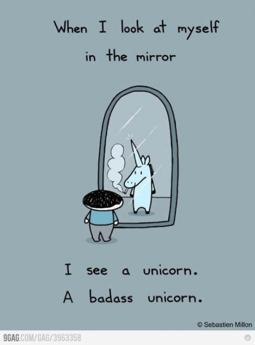 Bad Ass Unicorn. (via 9gag)