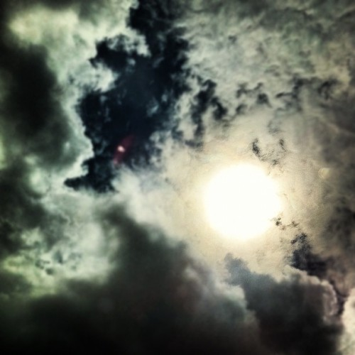 'RA' a beacon of light thru all thingZ cloudy (Taken with instagram)