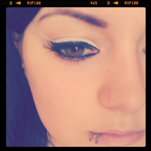My makeup today :D