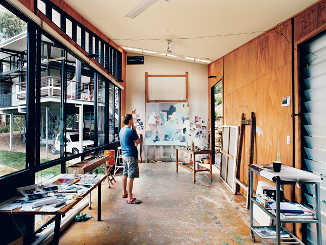 A painter workspace