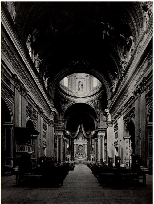 archimaps:  Inside Vignola's Church of Il Gesù, Rome