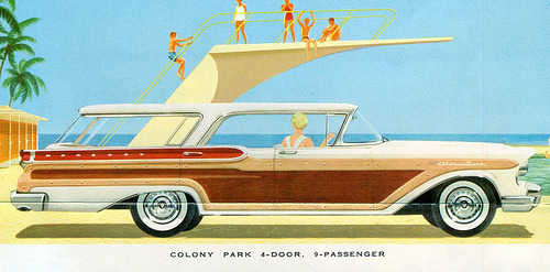 1957 Mercury Colony Park 4 Door Hardtop Station Wagon (by coconv)
