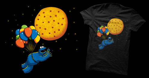 fly me to that delicious moon. http://atrium.threadless.com/sesamestreet/submission/fly-me-to-that-delicious-moon/