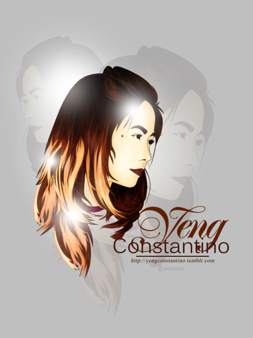 Vector Fansign for my Idol / Crush - @yengconstantino original photo