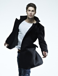 Black trench coat. A staple for winter.