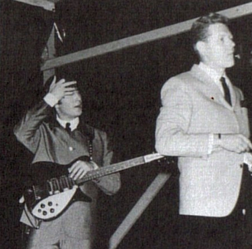 John and Red Robinson at the Empire Stadium, Vancouver  - Aug. 22, 1964