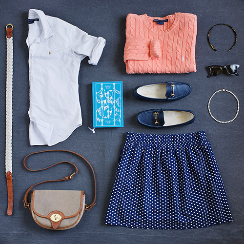 thingsorganizedneatly:  SUBMISSION: Preppy clothing organized in a most delightfully neat way.