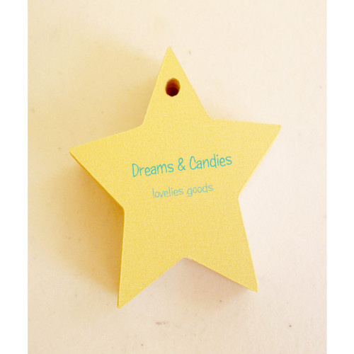 30 Personalized Stars Die cut Tag Measurement 2 by CurlynChic