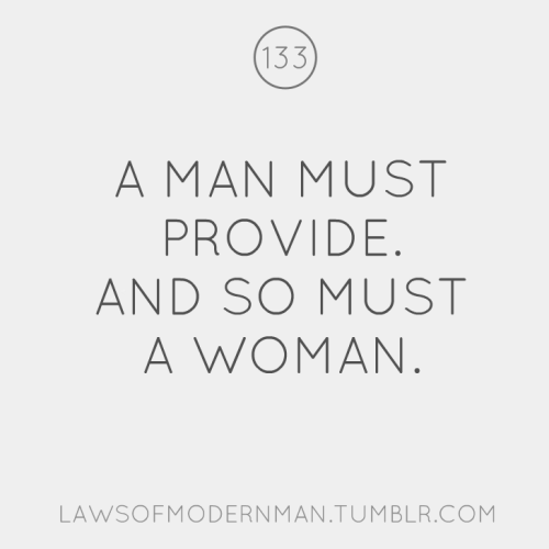 Laws of Modern Man number 133.  Tell us what you think of the new design here: CLICK