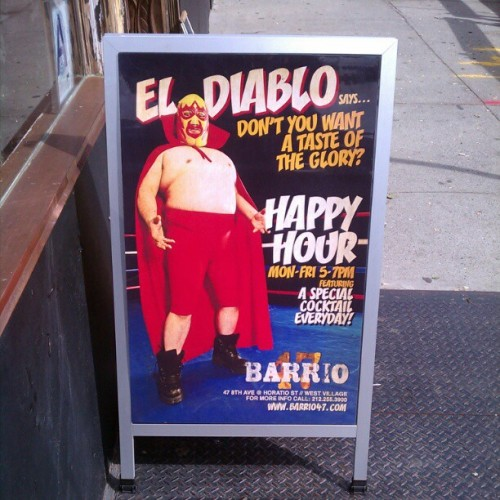 Nice happy hour sign :) (Taken with instagram)