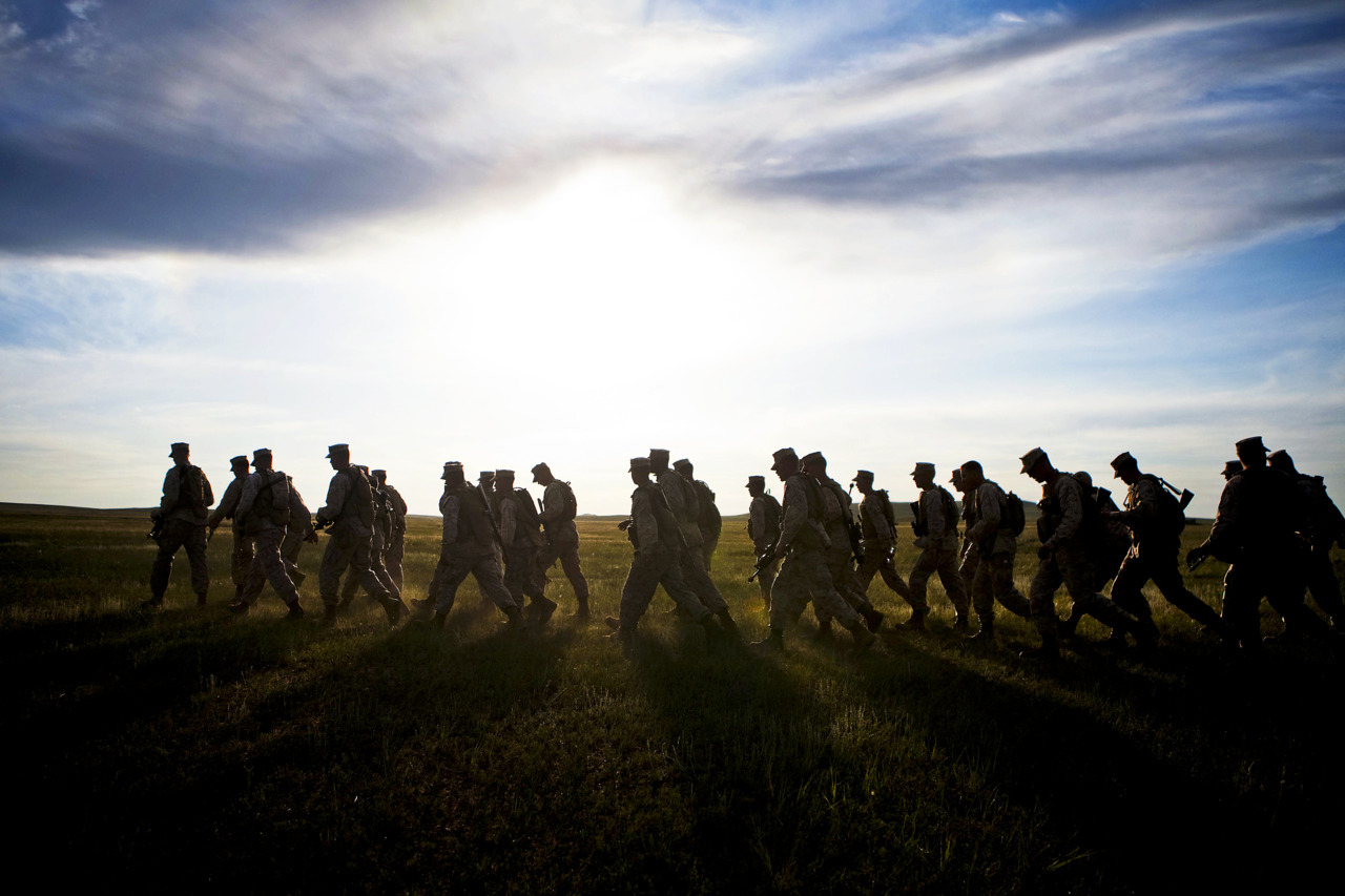 militaryheroes:  U.S. Marine Corps photo by Cpl. Tyler Main