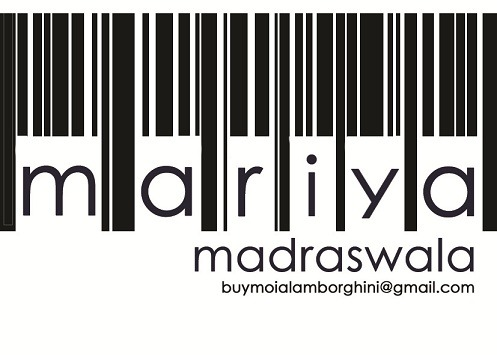 My first business card! I have a bar-code tattoo on my back ( Ill upload a picture of it soon)