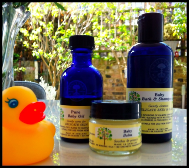 A little birdie has told us that Neal's Yard are re-launching their baby range very soon. How they can improve upon their already perfect baby products? We will have the best smelling, softest babies on the planet!  And I really, really like the packaging - those beautiful blue bottles are just so reassuring. So this post is in their honour!  Look forward to seeing the new range launch next month. We will happily spend bath time trying them all out, and will report back…  www.nealsyardremedies.com