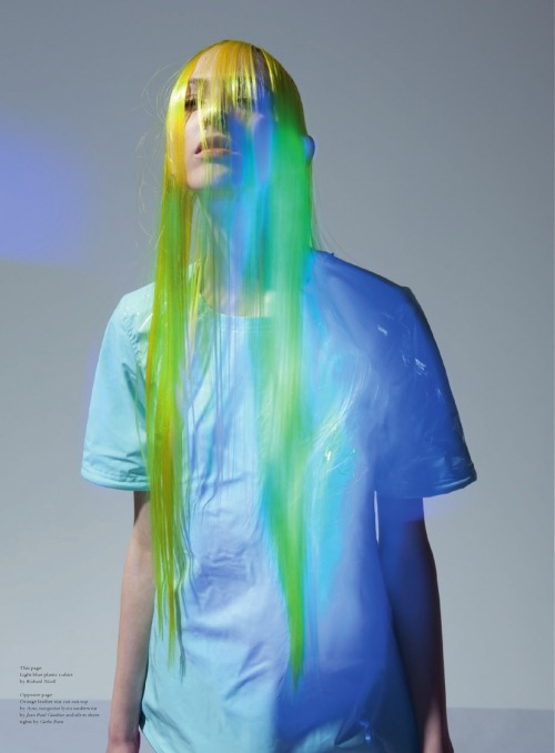 gasstation:  Lida Fox by Viviane Sassen for Acne Paper #13, Spring/Summer 2012