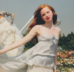 micaceous:  Lily Cole photographed by Tim Walker in Essex, 2004