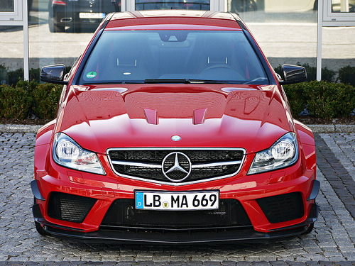 BOOOM!!!!!   Bloodthirsty Starring: Mercedes-Benz C63 AMG Black Series