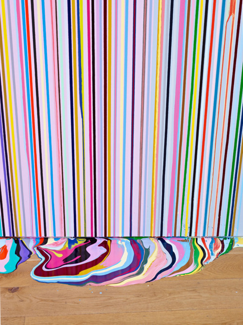 Wall Painting (After Carpaccio) | Ian Davenport | 2011