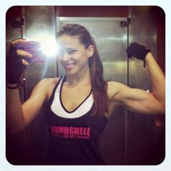 fitlatina:  Ana Delia De Iturrondo  going to do some zumba, legs, and arms.