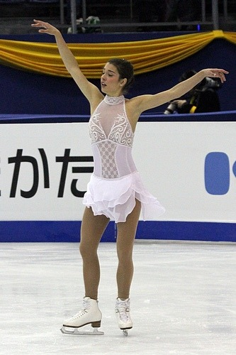 Alissa Czisny skating to Valse Triste at the 2012 World Championships. Photo by David W. Carmichael.
