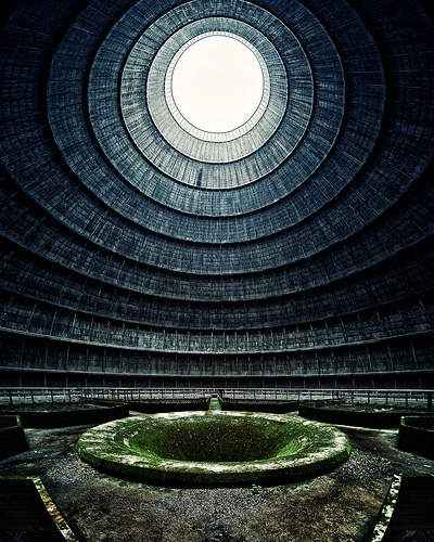 abandonedporn:  Abandoned Nuclear Cooling Tower (by ill-padrino)
