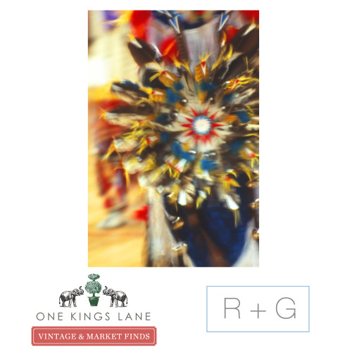 """Star Feather"" Digital Print by Ian Kennedy $199.00 Sold on One Kings Lane special Novogratz Curated Sale today! Find yours in our Wrapped Canvas Print Collection"